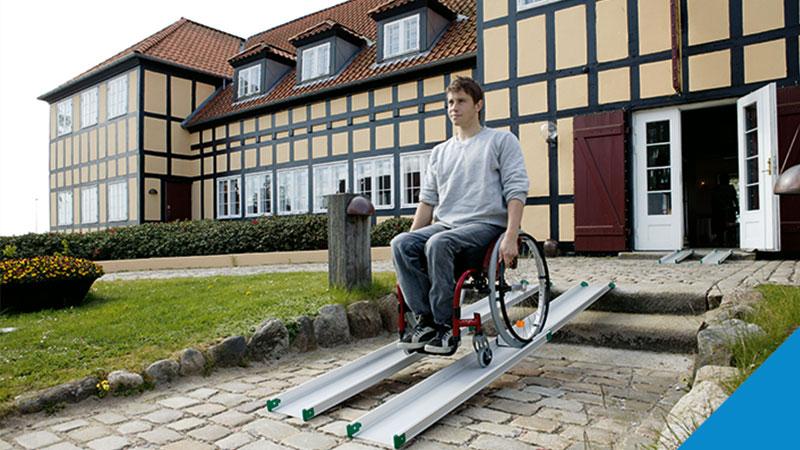 Nájazdové rampy pre vozičkárov a kočíky