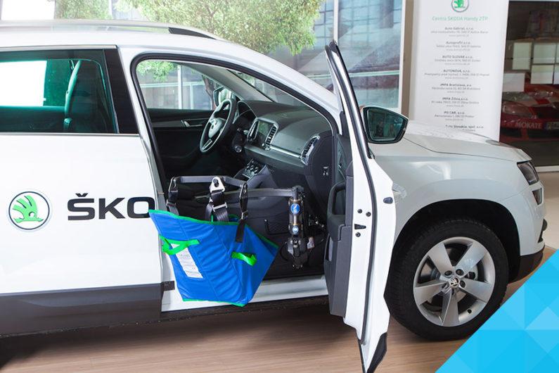 Bezbariérové vozidlo pre imobilných