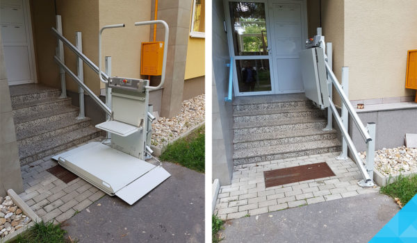 Plošina na schody pre imobilných