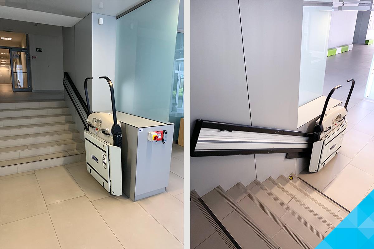 Šikmá schodisková plošina pre imobilných