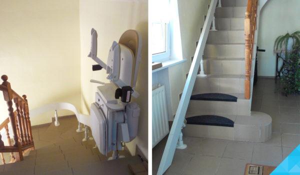 Stoličkový výťah na schody